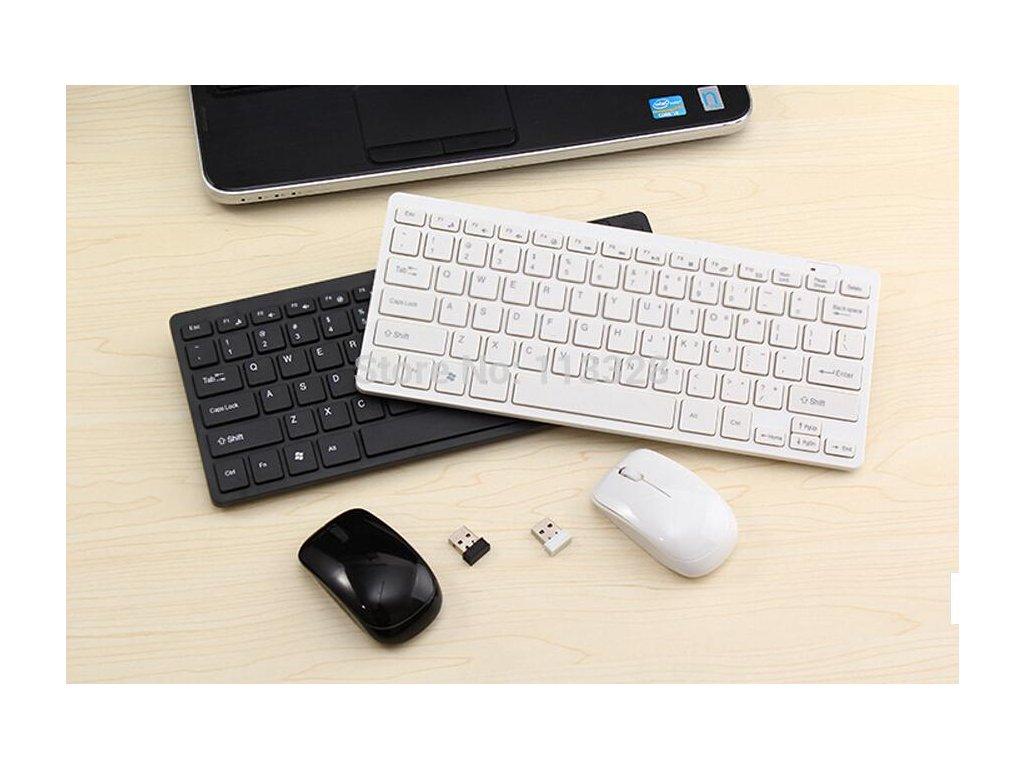 slim mini 2 4g wireless keyboard and mouse