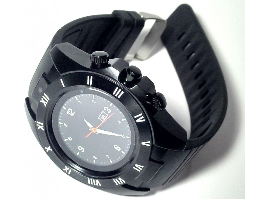 Bluetooth, chytré hodinky kulaté (smart watch)