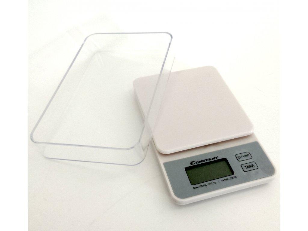 Malá digitální váha Constant 2000 g / 0,1 g