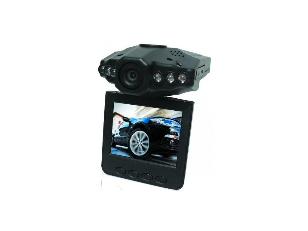 Mini HD - DVR autokamera  Stylová vyklápěcí kamera do auta
