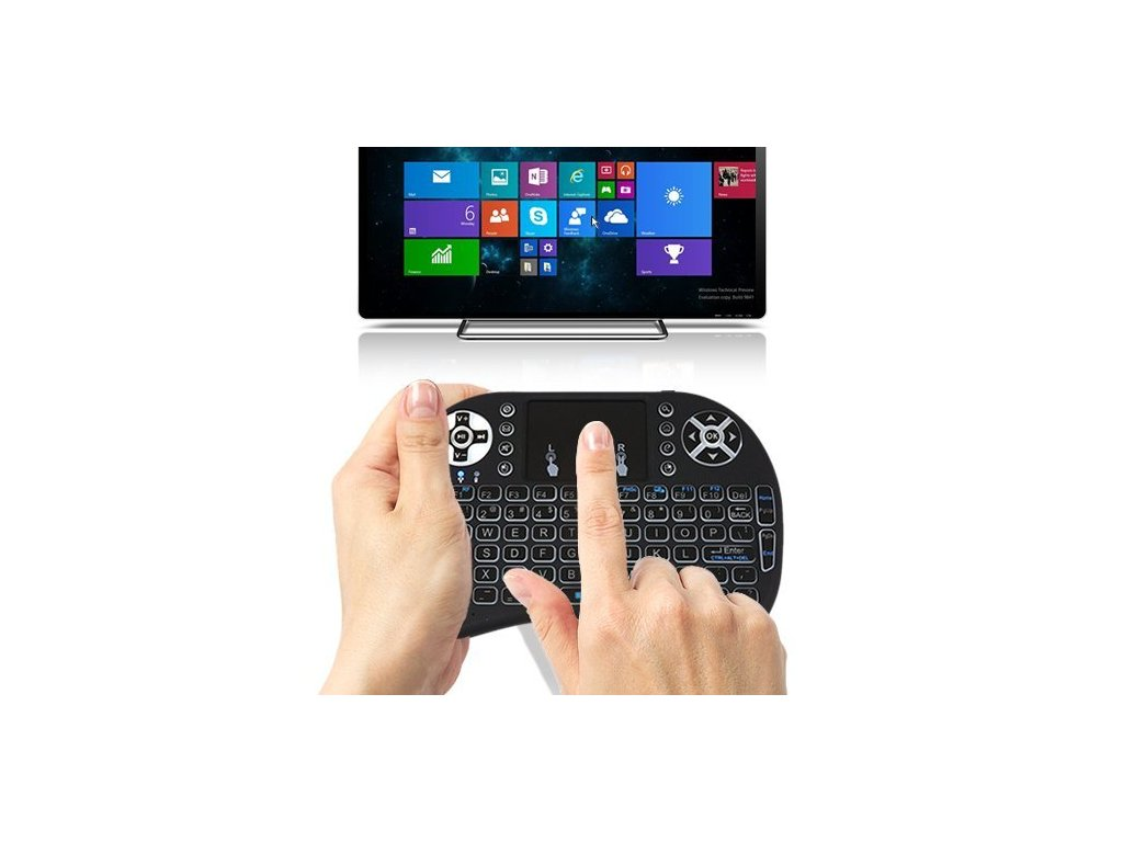 q1 led backlit mini keyboard touchpad 03