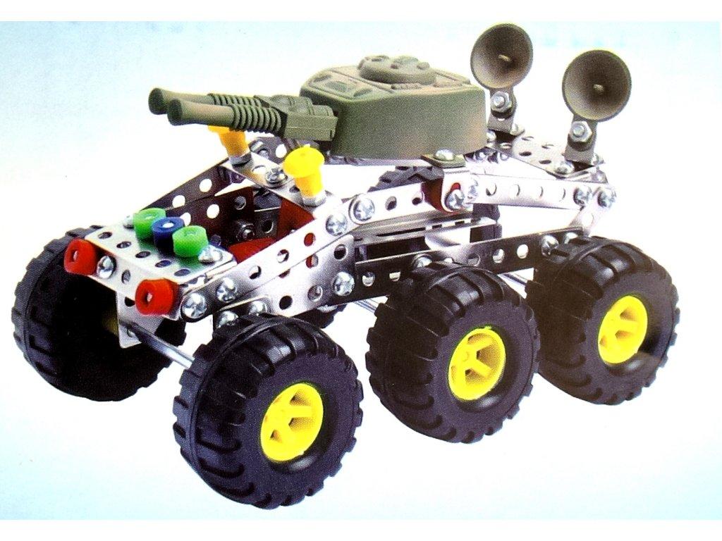 Kovová stavebnice 167Ks - Tank