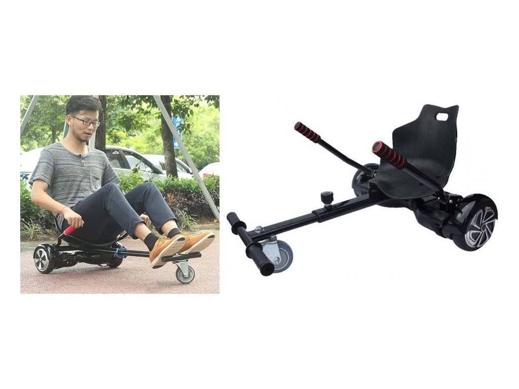 Koowheel Hoverkart for 6 8 10 inch hoverboard accessories adults kids smart electric scooter parts Go kopie