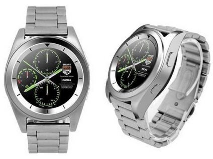 hodinky s mericem tepu brigmton bwatch bt6s 1 2 hd 64 mb ram 128 mb rom micro usb 250 mah stribro
