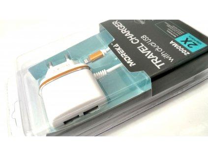 3v1 nabíjecí sada pro Apple zařízení se dvěma USB vstupy