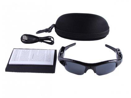 Brýle se skrytou HD kamerou + POUZDRO