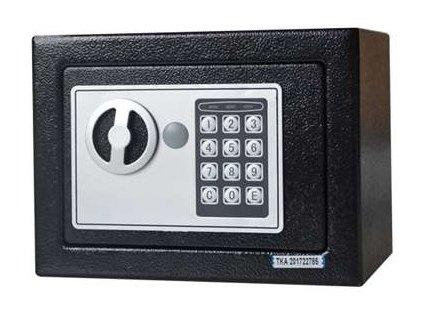Digitální trezor/ sejf Geti E17ST 230 x 170 x 170 mm