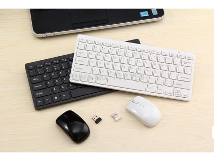 slim mini 2 4g wireless keyboard and mouse