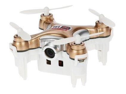 Mini dron s kamerou a wifi - zlatá