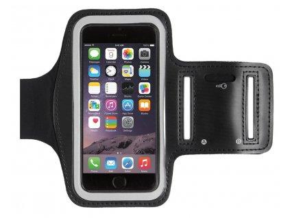 Mobilní fitness pouzdro na ruku ČERNÁ