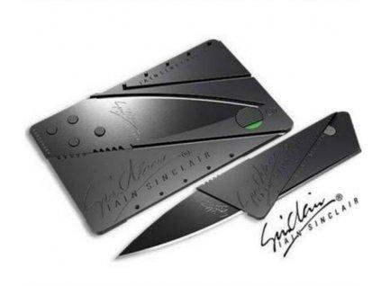 Nůž schovaný v kartě