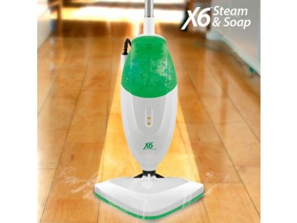 parni mop x6 steam soap 0 65 l 1400 1600w zelena bily (3)