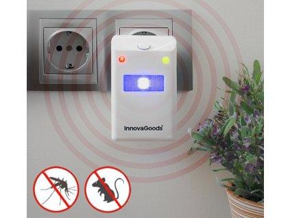 odpuzovac hmyzu a hlodavcu s led innovagoods