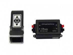 Jednokanálový 8A stmívač pro 12V LED pásky na dálkové ovládání  DM 103