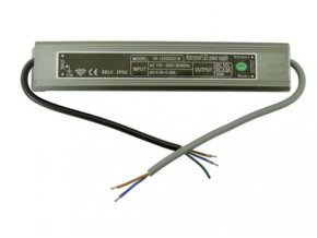 30W elektronický 12V zdroj venkovní IP67 DE LED 30W