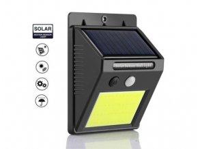 Venkovní, bateriové, solární svítidlo LED COB  SH 1605COB SOLAR