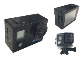 6873 7 sportovni 4k hd kamera wi fi s dvojitou obrazovkou