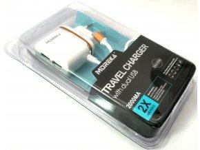 3v1 nabíjecí sada micro USB se dvěma USB vstupy