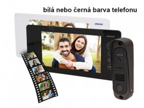 """Domovní videotelefon ORNO pro 1 účastníka LCD 7"""""""
