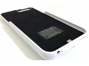Perfektní nabíjecí pouzdro / kryt na iPhone 6 Plus, 7 Plus - Bílá