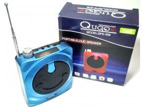 Perfektní přenosné, nabíjecí rádio (USB, AUX, Karty SD, LED display)