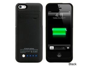 Black Gearonic 2200mAH External Battery Case with Kickstand for iPhone 5C 749b6dee 9b0a 42ec ac5d ecd88753754a 600