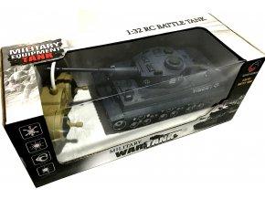 RC tank Tiger na dálkové ovládání 1:32