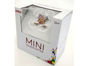 Mini barevný dron 8 x 8cm