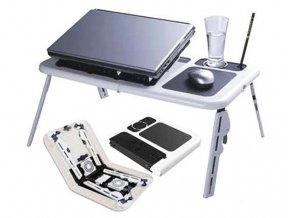 Přenosný, víceúčelový stolek pro notebook E-Table