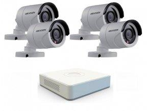 Sada záznamového kamerového systému Hikvision turbo HD - 4 venkovní kamery a DVR s HDD 1TB