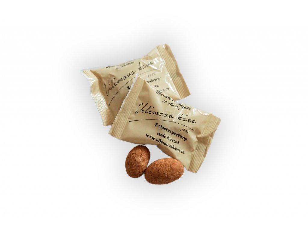 mandle v cokolade vilemova kava 1