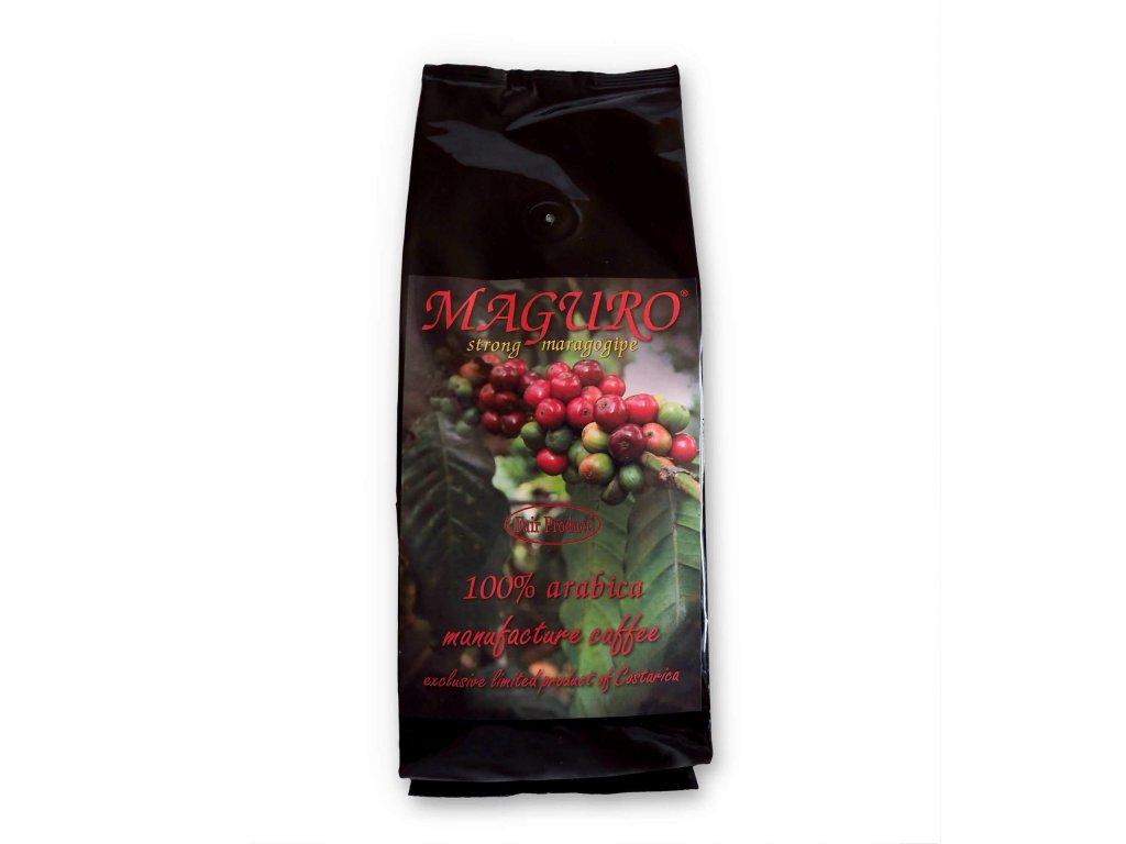Čerstvě pražená zrnková káva Maguro Strong - 100% Arabica