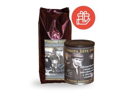 obchodskavou cz vilemova kava 1 kg plechovka zdarma