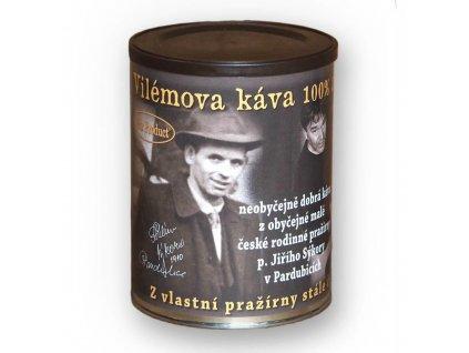 Vilémova káva neobyčejná káva, z obyčejné české pražírny v dárkovém balení