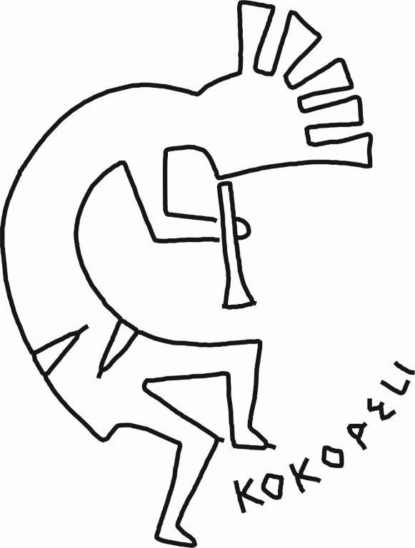 Kokopeli symbol