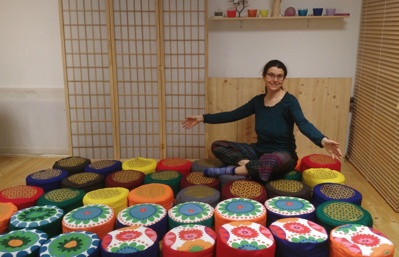 Můj příběh - jak jsem začala tvořit meditační polštáře