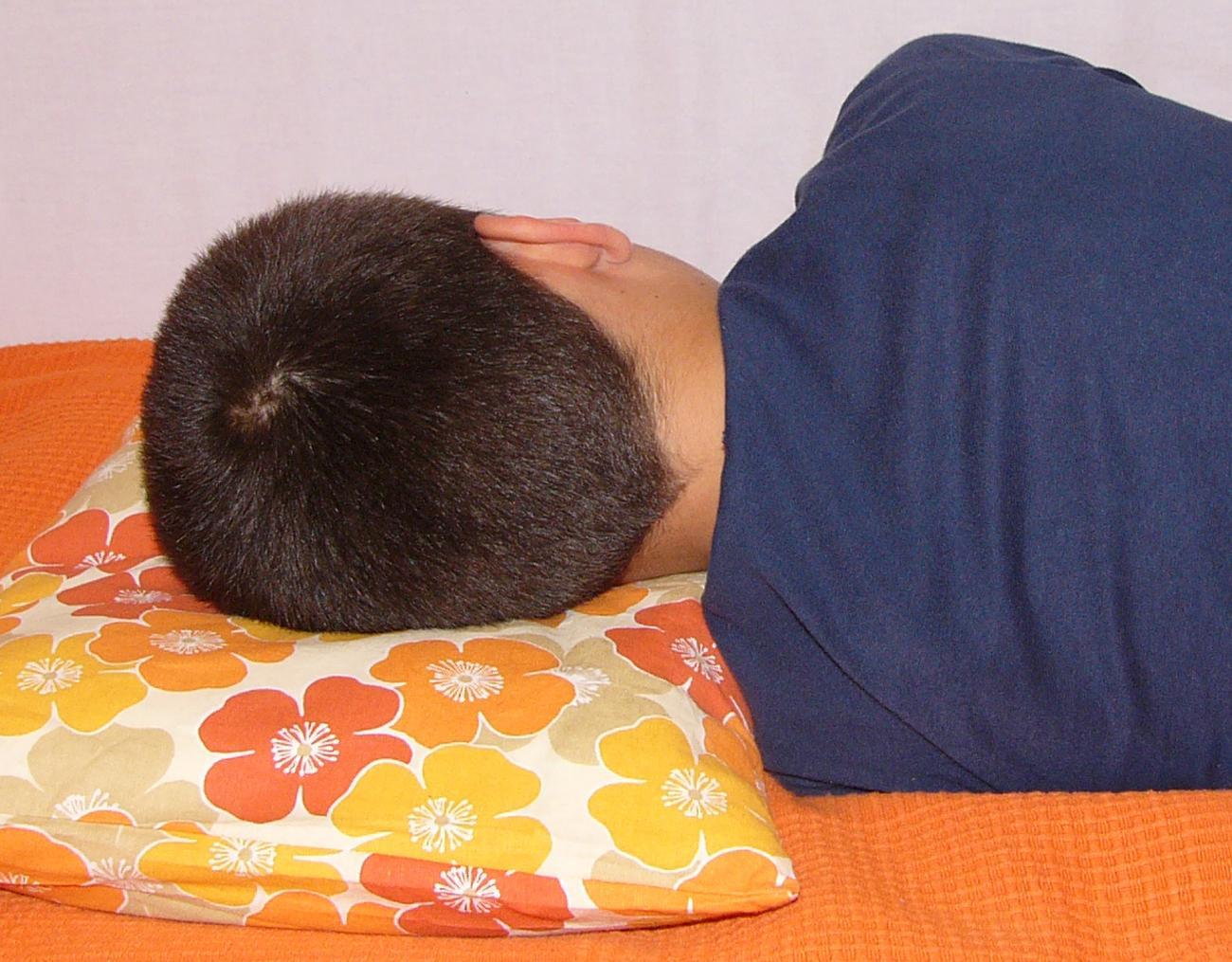 Kvalitní spánek na pohankovém polštáři