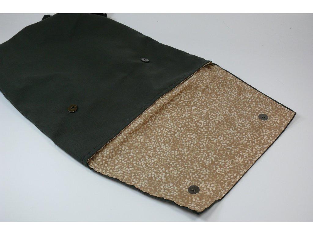 Dámský módní batůžek modrá dekorace - mandala - Obchod s radostí df0a647c78