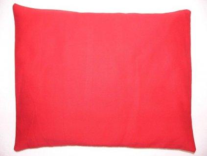 Pohankový polštář červený