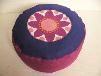 Podsedák s pohankovými slupkami - květina