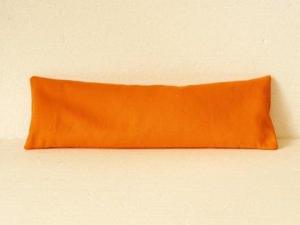 Pohankový polštář 15x50 cm - jednobarevná nudle