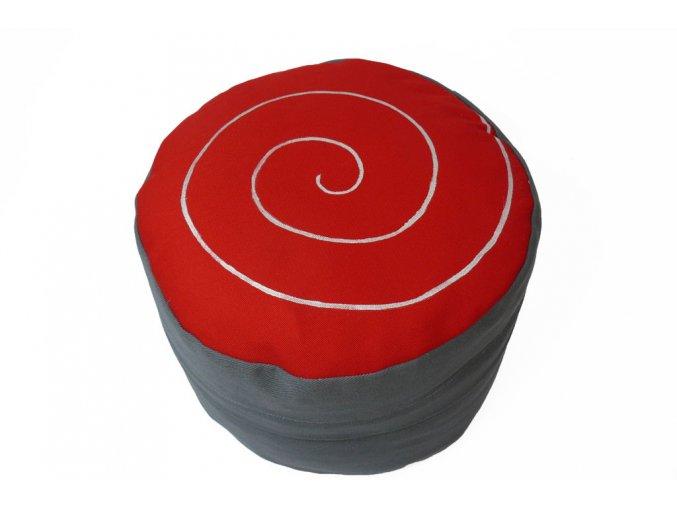 Pohankovy podsedak spirala cerveny