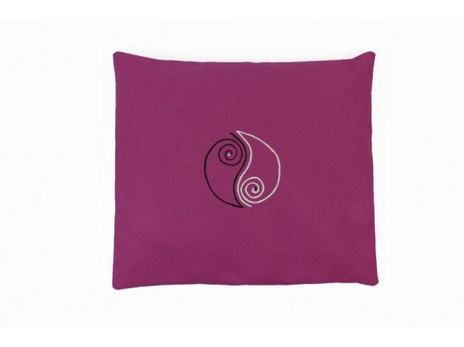 pohankový polštářek monáda růžový