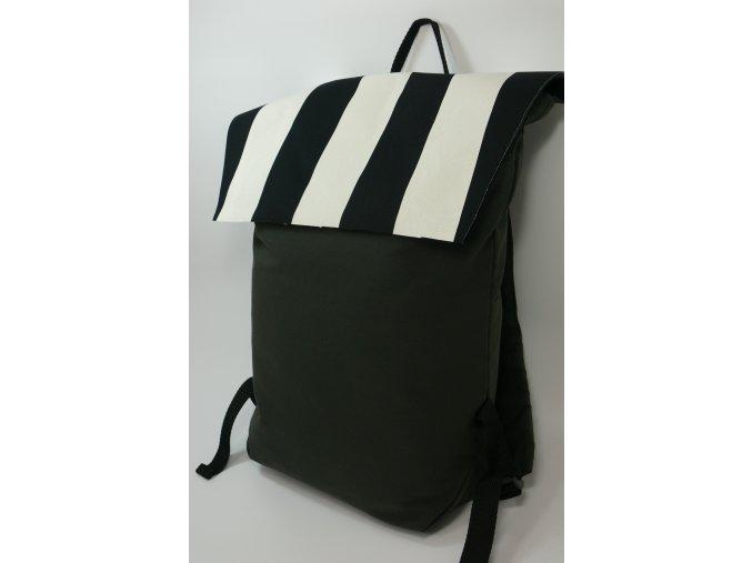 Textilní batůžek s proužky