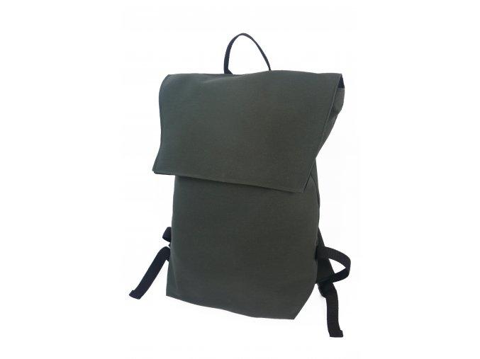 Černý batůžek nepromokavý