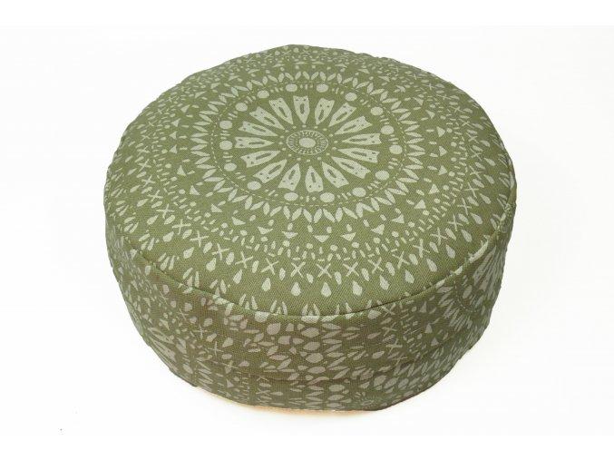 Vintage mandala meditacni polstar
