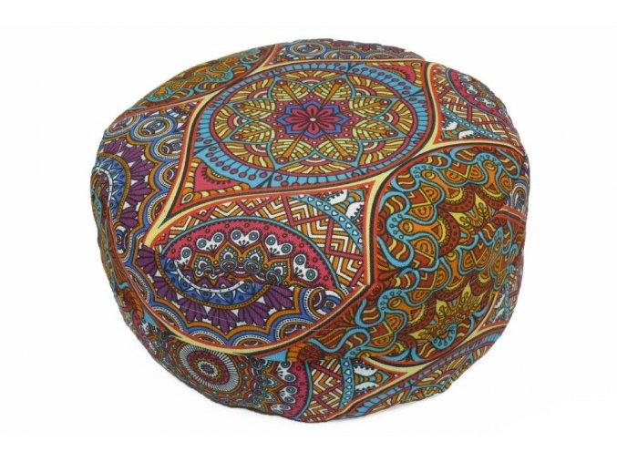 Meditacni polstar Orientalni tanenice mandala