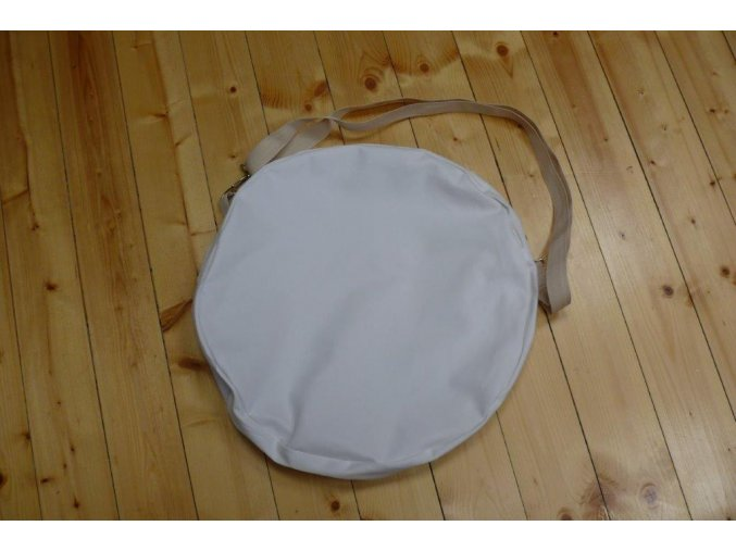 Obal na šamanský buben bílý