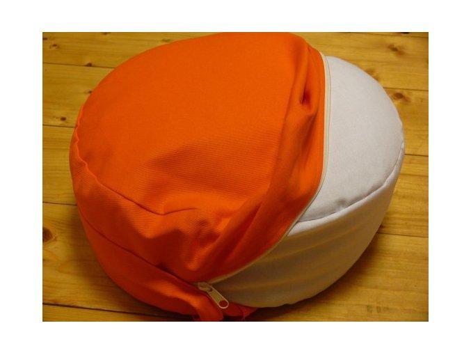 Povlak na meditační sedák: průměr 30 , 40, 50 cm x výška 12 - 30 cm
