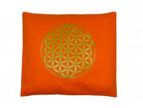 Pohankovy polstar kvet zivota oranzovy na spani